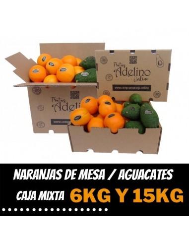 Caja Mixta de Naranjas de Mesa y...