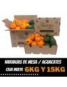 Caja Mixta de Naranjas de Mesa y Aguacates