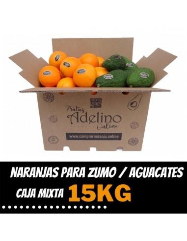 Caja Mixta de Naranjas de Zumo y...