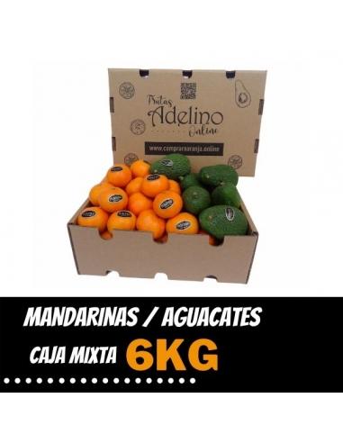 Caja Mixta de Mandarinas y Aguacates