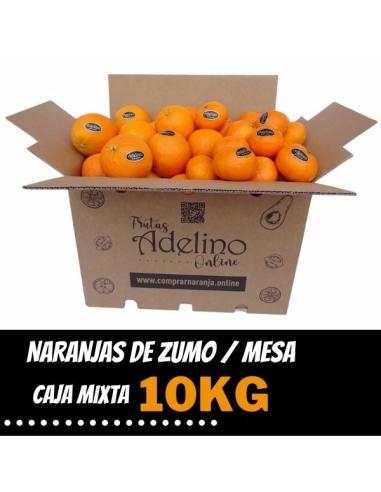 Caja Mixta de Naranjas de Zumo y Mesa...